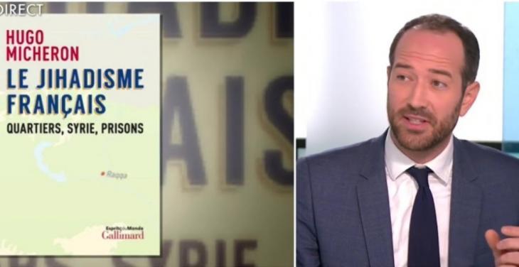 الباحث السياسي الفرنسي هوغو ميشيرون. (screenshot: YouTube)
