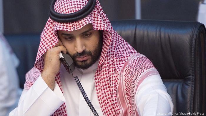 ولي عهد السعودية محمد بن سلمان. Foto: picture-alliance/Abaca/Bakis Press