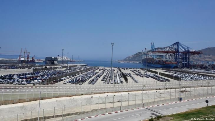 ميناء طنجة  - موقع المغرب اللوجستي المُوسَّع في شمال أفريقيا. Foto: Reuters