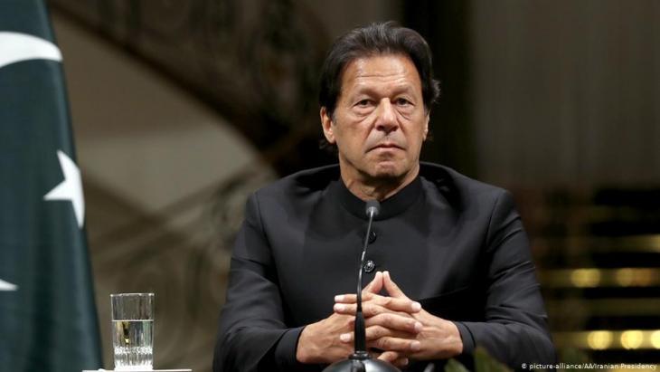 رئيس الوزراء الباكستاني عمران خان. Foto: picture-alliance/AA