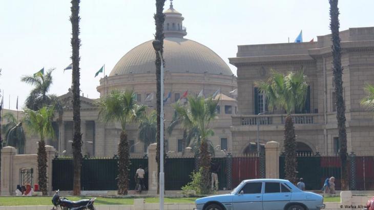 مصر..جامعة القاهرة وتظهر القبة الشهيرة في الصورة (سبتمبر/ أيلول 2014)