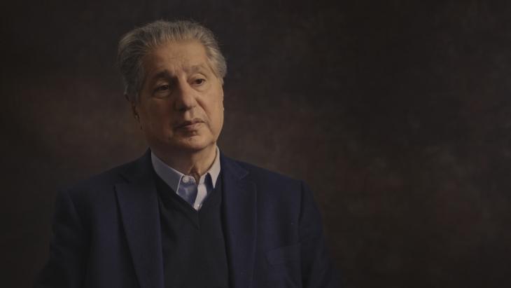 """أمين الجميّل، الرئيس الأسبق للبنان ولد عام 1942، وهو ابن """" بيار الجميّل """" مؤسس حزب """" الكتائب"""". الصورة: arte & WDR"""