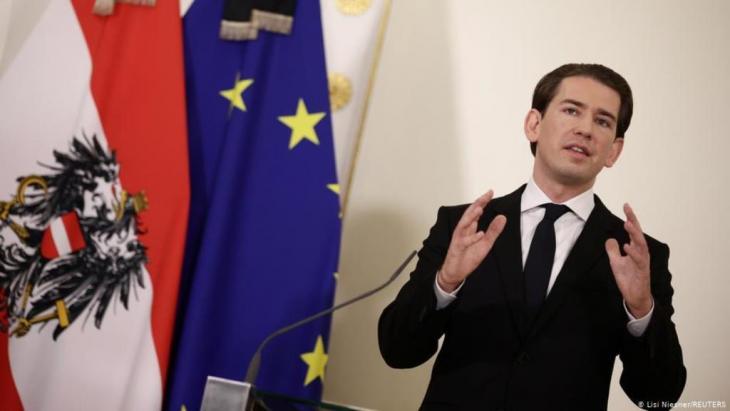 المستشار النمساوي سيباستيان كورتس  (Lisi Niesner/REUTERS)