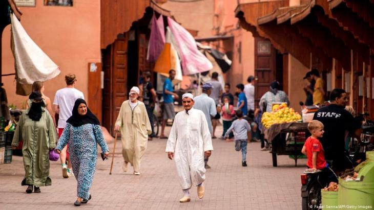 حي الملاح بمراكش..حيث عاش اليهود تاريخيا في كنف التعايش مع مواطنيهم المسلمين