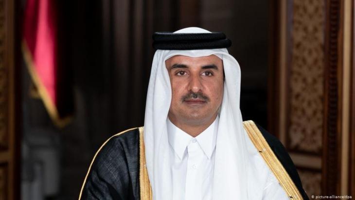 أمير قطر تميم بن حمد آل ثاني. (Foto: Picture-Alliance/ dpa)