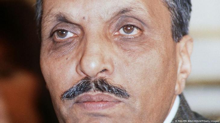 الحاكم العسكري [الباكستاني] ضياء الحق (1977 - 1988). Foto: AFP/Getty Images