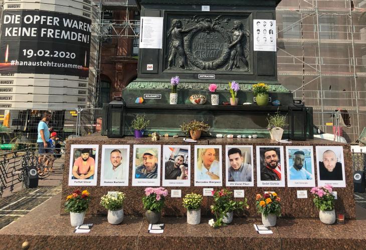 ألمانيا - صور ضحايا هجوم عنصري إرهابي على ذوي أصول مهاجرة تم في تاريخ  19 / 02 / 2020 بمدينة هاناو الألمانية.