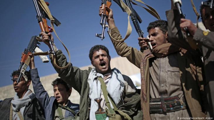 الحوثيون (جماعة أنصار الله) حركة سياسية دينية راديكالية تتبنى المذهب الشيعي الزيدي، وتعدّ من أكثر الميليشيات تسلحا في الشرق الأوسط.