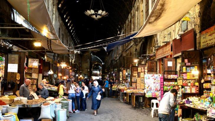 سوق الحميدية في دمشق – سوريا.  Foto: privat