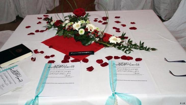 صورة رمزية – زواج إسلامي.  Foto: LIB