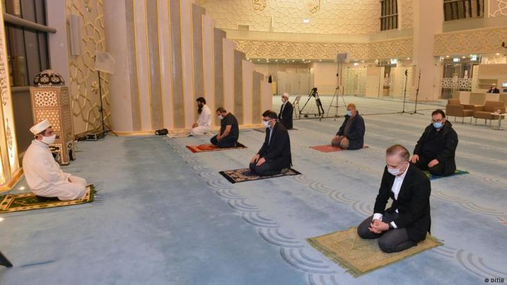 المساجد في ألمانيا حاولت التأقلم مع الجائحة.