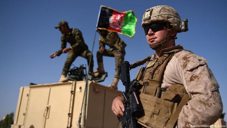 الجيش الأمريكي في أفغانستان. Foto: Getty Images/AFP/W.Kohsar