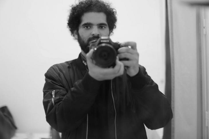 """الصحافي أيمن الطويهري - يعمل مع موقع """"انكفاضة"""" الاستقصائي - تونس.  Foto: Privat"""