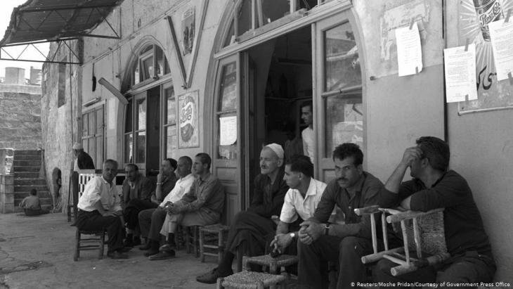 مشهد من المدينة القديمة في القدس بُعَيْد احتلالها من قِبَل إسرائيل عام 1967. Foto: Reuters/Moshe Pridan/Courtesy of Government Press Office