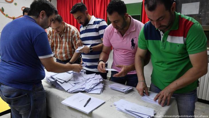 الانتخابات الرئاسية السورية - بشار الأسد. Foto: Mikhail Voskresenskiy/sputnik/dpa/picture-alliance