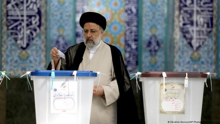 رئيس إيران المتخَب الجديد إبراهيم رئيسي 2021