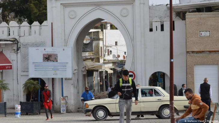 مدخل مدينة طنجة القديمة  - المغرب. Foto: Stefanie Claudia Müller/DW