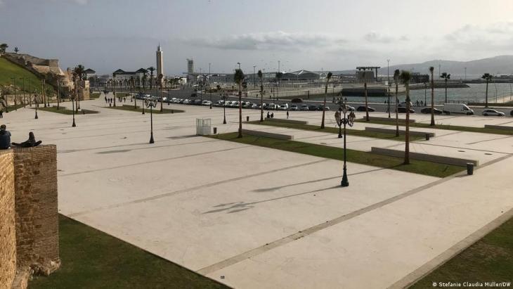 ميناء طنجة في زمن كورونا - المغرب. Foto: Stefanie Claudia Müller/DW
