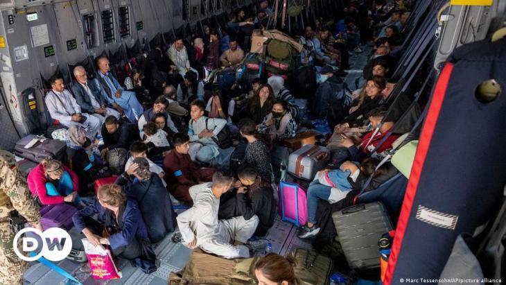فوضى في مطار كابول - أفغانستان. Afghanistan Kabul Flughafen Evakuierungen Chaos Foto Picture Alliance 02