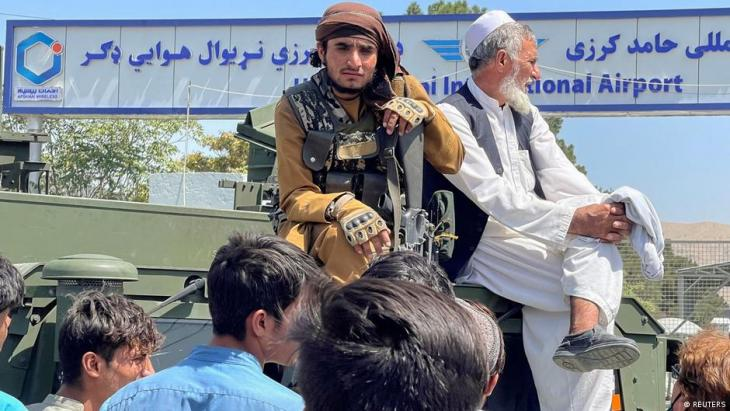 أعضاء من حركة طالبان في كابول - أفغانستان. Afghanistan Taliban in Kabul  Foto Reuters