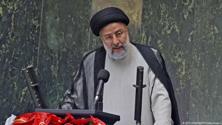 الرئيس الإيراني إبراهيم رئيسي.  (photo: AFP/Getty Images)