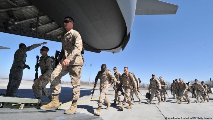 انسحاب حلف شمال الأطلسي (الناتو) من أفغانستان في 2021. (photo: AFP/Getty Images)