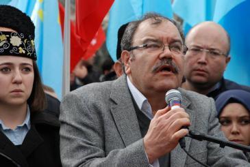 جلال إيتشين رئيس جمعية تتار القرم المسلمين في اسطنبول.Foto: Luise Sammann