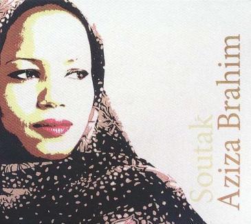 "Cover of Aziza Brahim's album ""Soutak"""