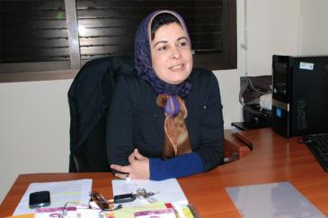 """أسماء المرابط رئيسة """"مركز دراسات المرأة"""".  Foto: asma-lamrabet.com"""