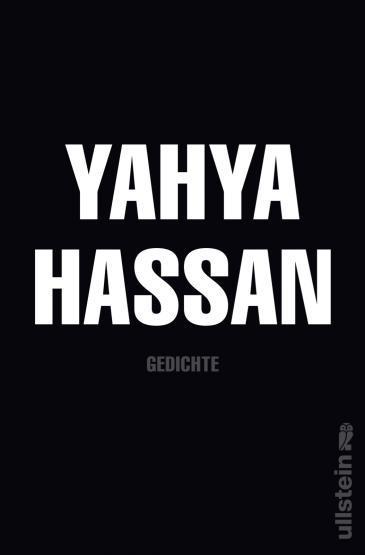 """Buchcover """"Gedichte"""" von Yahya Hassan; Foto: Ullstein"""