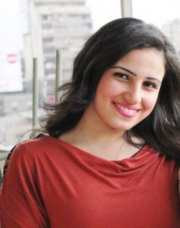 الكاتبة المصرية نهلة كرم الصورة خاص