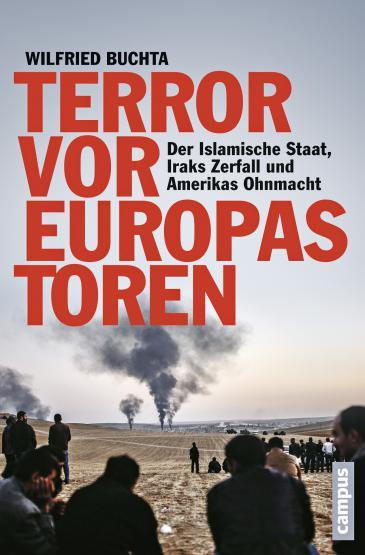 """غلاف الكتاب الألماني """"الإرهاب على أبواب أوروبا"""" Campus-Verlag"""