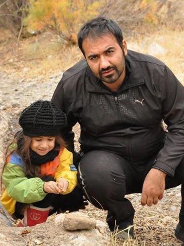الناشط الإيراني سهيل عربي Photo: Masihian Zendani