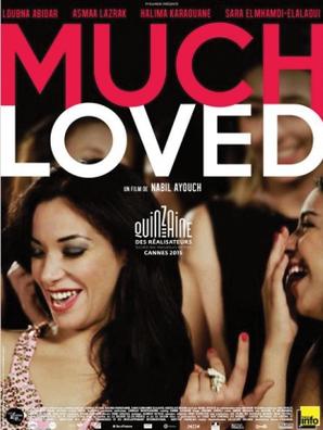 """Kinoplakat """"Much Loved"""" von Nabil Ayouch"""