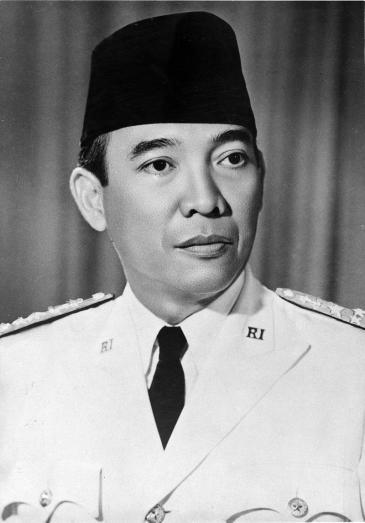 الرئيس الإندونيسي الأسبق سوكارنو. Foto: wikipedia