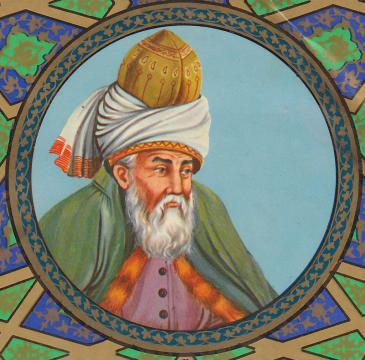 Dschalāl ad-Dīn Muhammad ar-Rūmī; Foto: Wikipedia.de