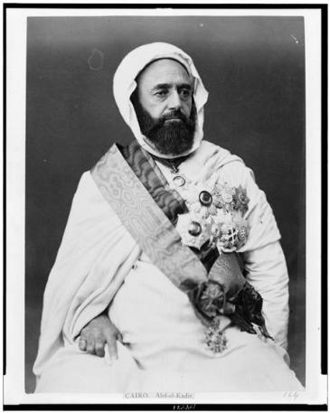 الأمير عبد القادر. (photo: Library of Congress, Public Domain)