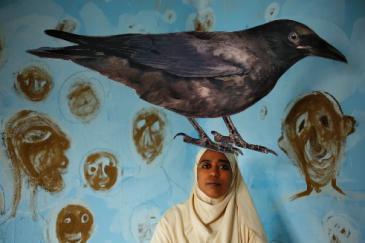 المصورة الفوتوغرافية المصرية هبة خليفة. الصورة:  هبة خليفة