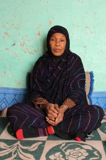 الصورة من تصوير وصال الشيخ وتعود لمنطقة طاطا وناسها في المغرب