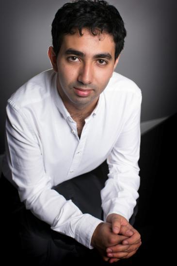 الموسيقي كريم سعيد يرتبط بصلة قرابة مع إدوارد سعيد. Foto: Matthew Percival