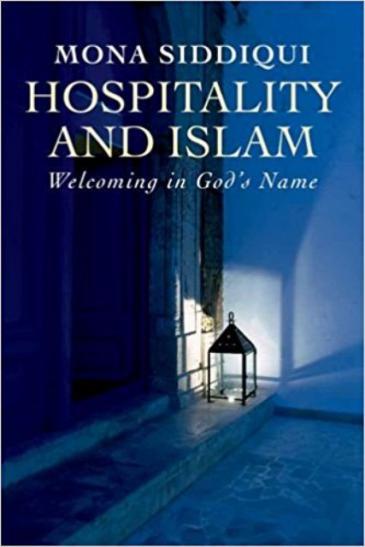 """غلاف كتاب منى صدِّيقي """"الضيافة والإسلام: الترحيب باسم الله"""". (published by Yale University Press)"""