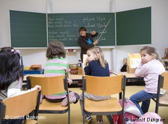 درس تقوية في مدرسة ألمانية. Foto: LudolfDahmen