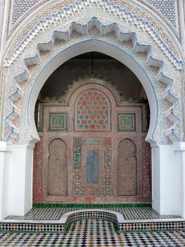 أصبح جامع القرويين أول معهد ديني وتطور ليصبح أكبر كلية عربية في بلاد المغرب الأقصى، ولا تزال الجامعة تعمل كمؤسسة أكاديمية حتى اليوم.; Foto: Anderson Sady/Wikipedia