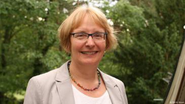 الألمانية أولريكه فرايتاغ مديرة مركز ايبنتز للدراسات الشرقية الحديثة: Foto: DW/ H. Kiesel