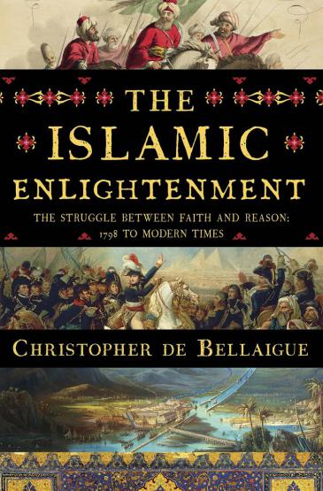 """الغلاف الإنكليزي لكتاب """"التنوير الإسلامي...صراع الإيمان والمنطق"""".  Liveright Publishing Corporation"""