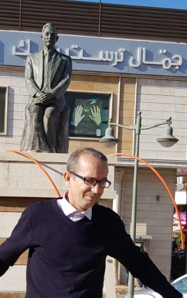 إبراهيم مشارة / كاتب جزائري. Foto: Privat