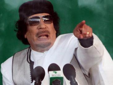 معمر القذافي. Foto: dpa