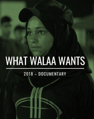 "Kinoplakat ""What Walaa wants""; Quelle: Berlinale"