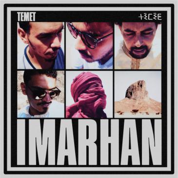 """غلاف ألبوم """"تيميت"""": اتصالات - فرقة إمرهان الجزائرية التماشقية. (released by City Slang Records)"""