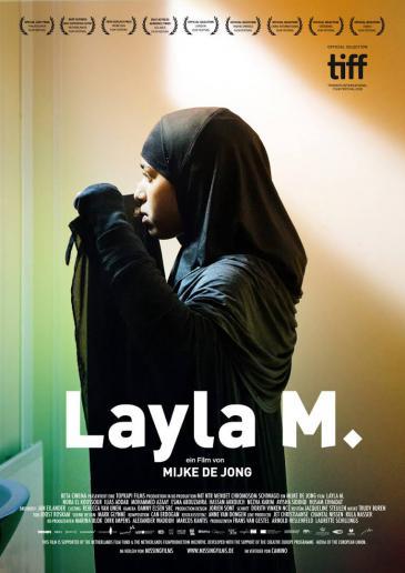 إعلان فيلم ليلي م. باللغة الهولندية. Film Layla M.